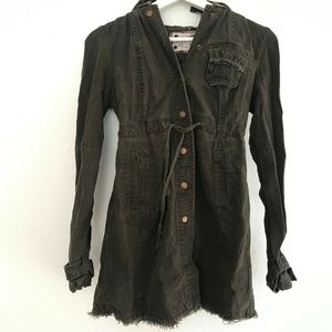 Free People Size 0 Button Up Jacket Women's